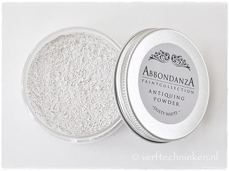 Abbondanza Antiquing Powder Dusty White