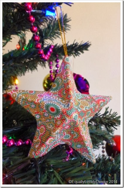 Decopatch Christmas Star