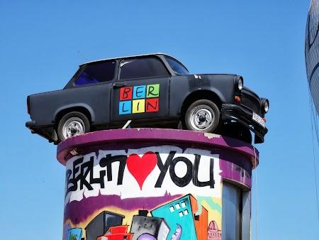 Obiective turistice Berlin: Trabantul zburator