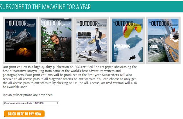 Outdoor Journal Magazine