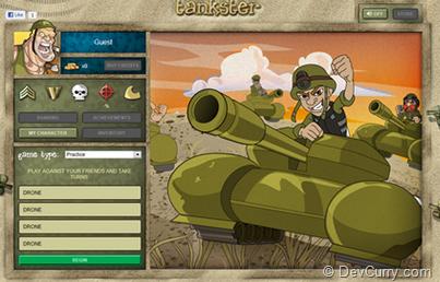 HTML 5 Tankster