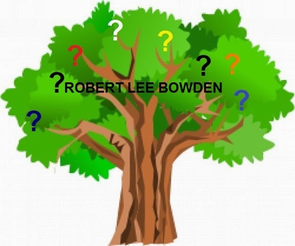 Green tree with question marks_Robert Lee Bowden