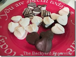 peppermint marshmallows - The Backyard Farmwife