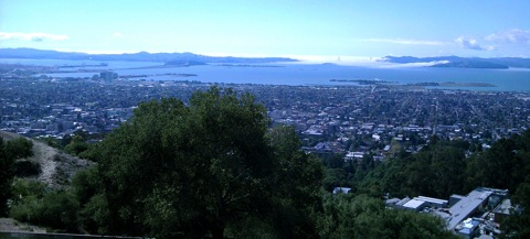 View from hall of science