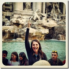Faith, Trevi Fountain