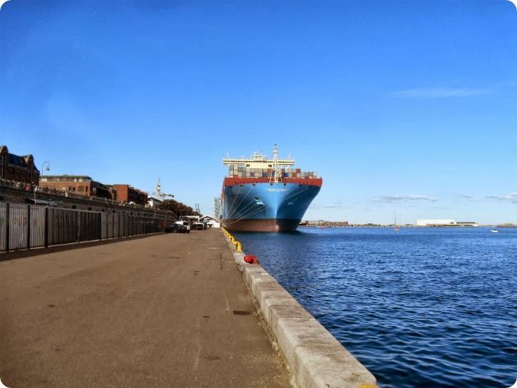 Majestic Mærsk - Langeliniekaj september 2013