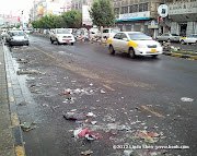 A cleaner part of Hadda Street, Sana&#039;a, Yemen