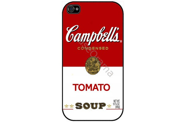 tomato-soup campbell's-capinha-Iphone