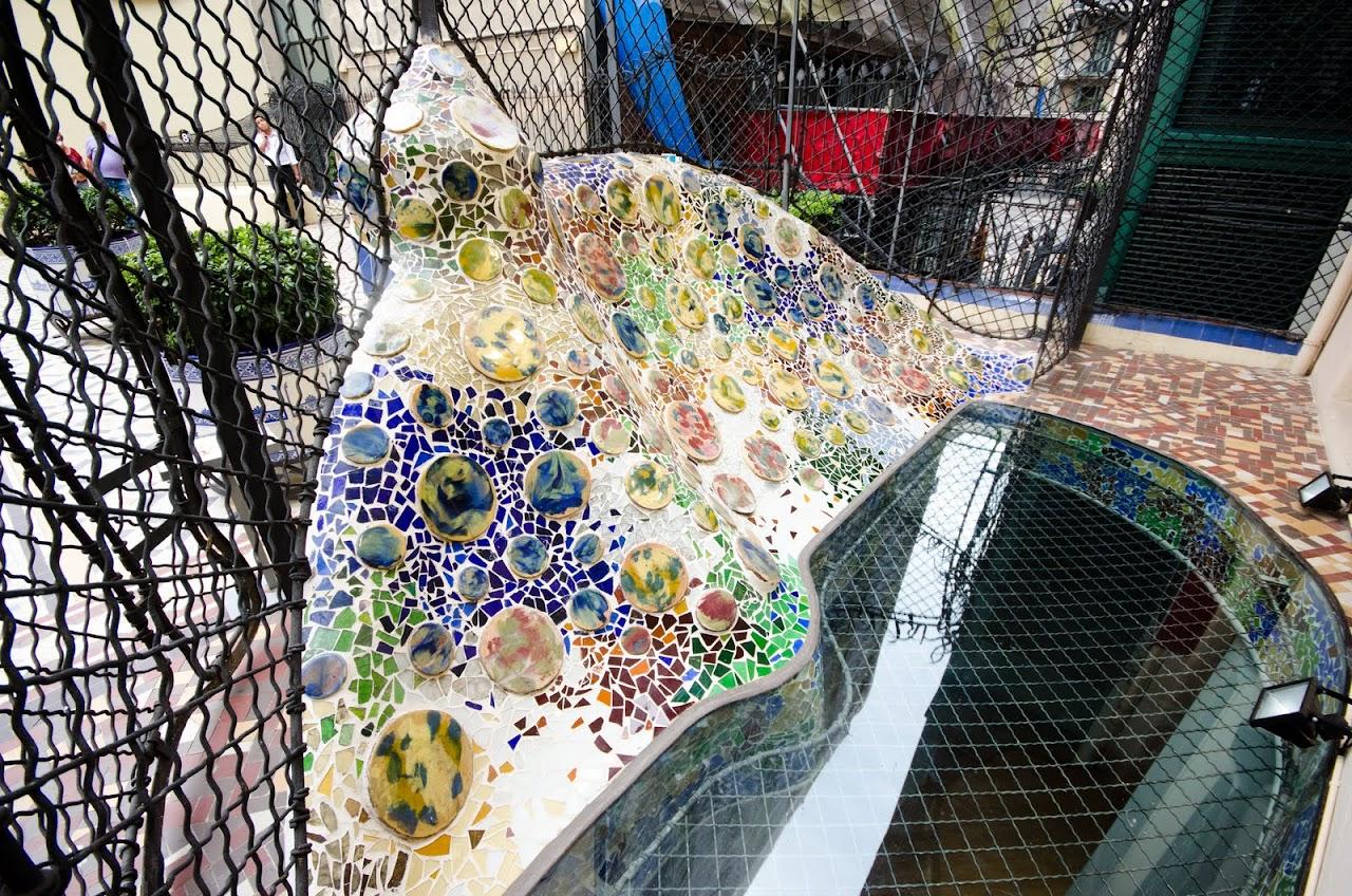 Casa Batllo garden