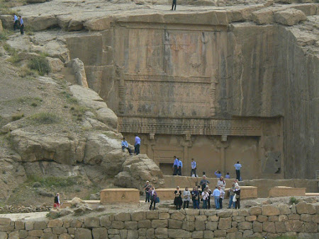 Things to see in Persepolis: The grave of Artaxerxes II