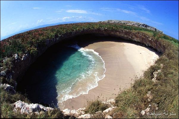 شاطئ مخفي