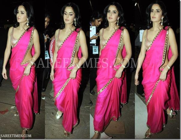 Katrina_Kaif_Pink_Saree