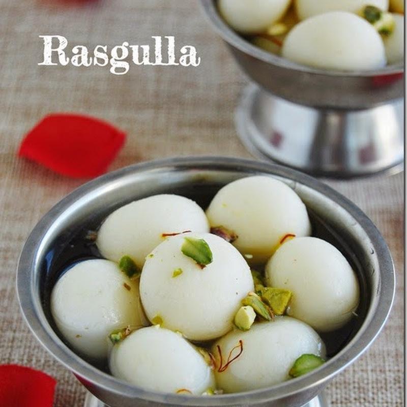 Rasgulla / Bengali rasgulla