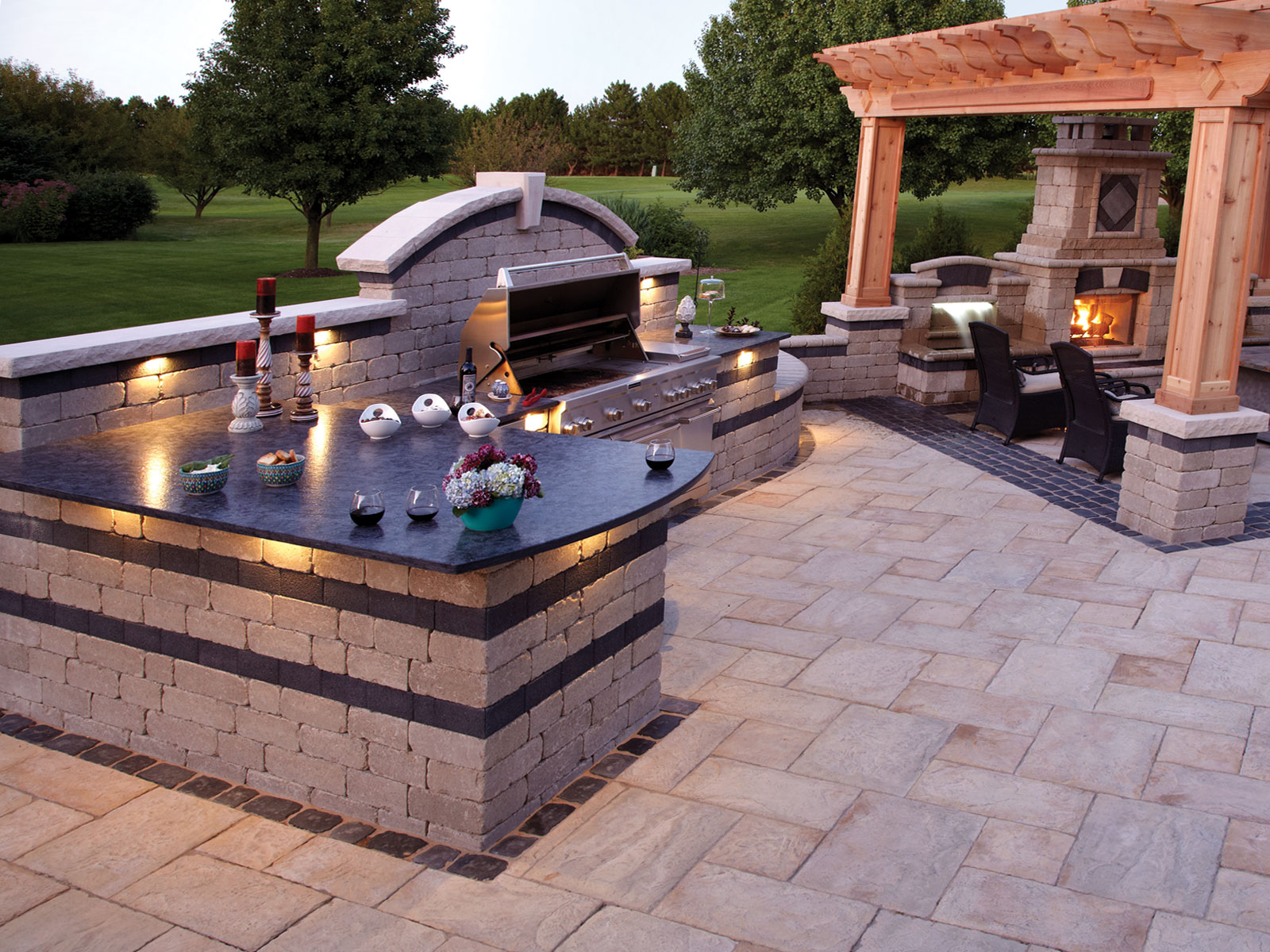 Backyard Barbecue History  Small Backyard Landscaping Ideas