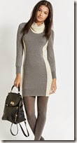 Oasis Colourblock Knit Sweater Dress