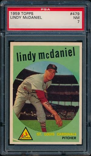 1959 Topps 479 Lindy McDaniel