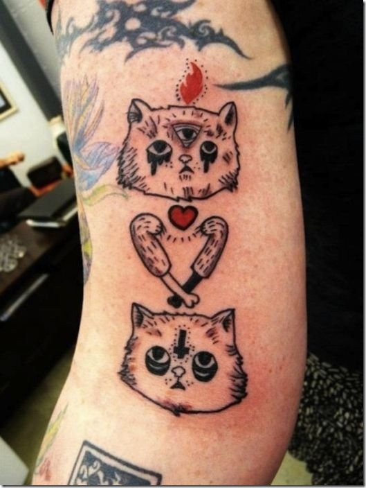 cool-cat-tattoos-17