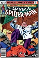 The amazing spider-man #197, si quieres ver una paliza por parte de Kingpin solo con sus  manos, no debes perderte esto.