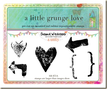 SW A little grunge love packaging