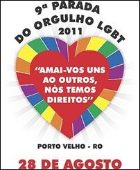 cartaz Parada do Orgulho LGBT de Porto Velho 2011