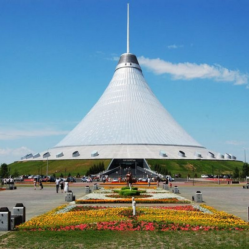 Khan Shatyr–the World's Tallest Tent in Kazakhstan