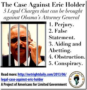 Case Against Holder