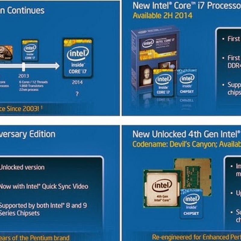 Great news from Intel camp, performance CPUs at budget prices coming soon!