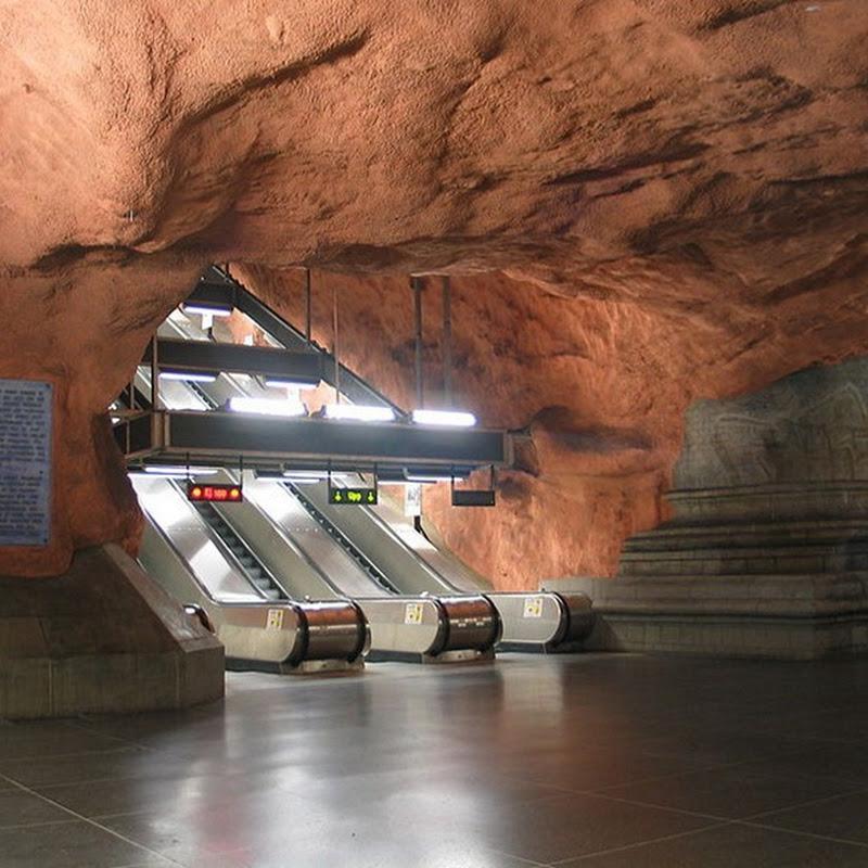 Artistic Stockholm Subway System