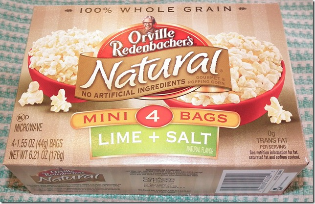 Orville Redenbacher Lime and Salt Popcorn