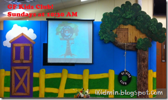 gf kids club stage