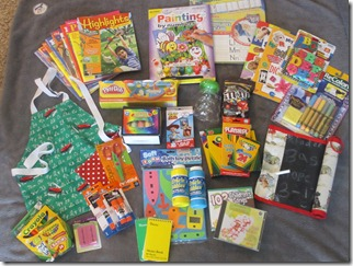 The First And Second Graders Joined Forces To Create Family Game Night Basket There Is All Sorts Of Fun In This