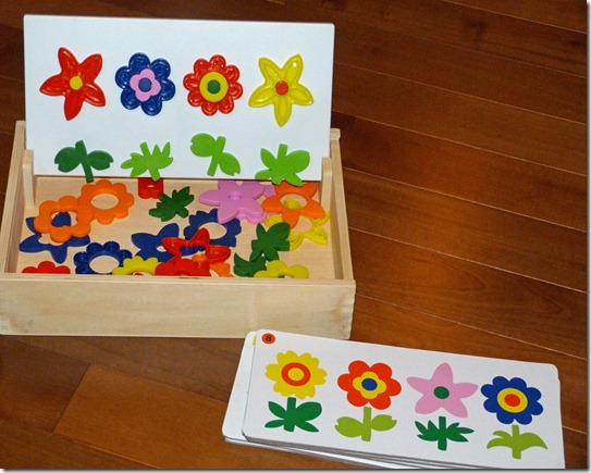 Flower Garden Sorting Set