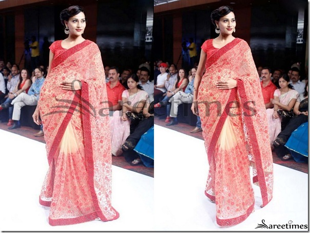 Pink_White_Dual_Color_Saree