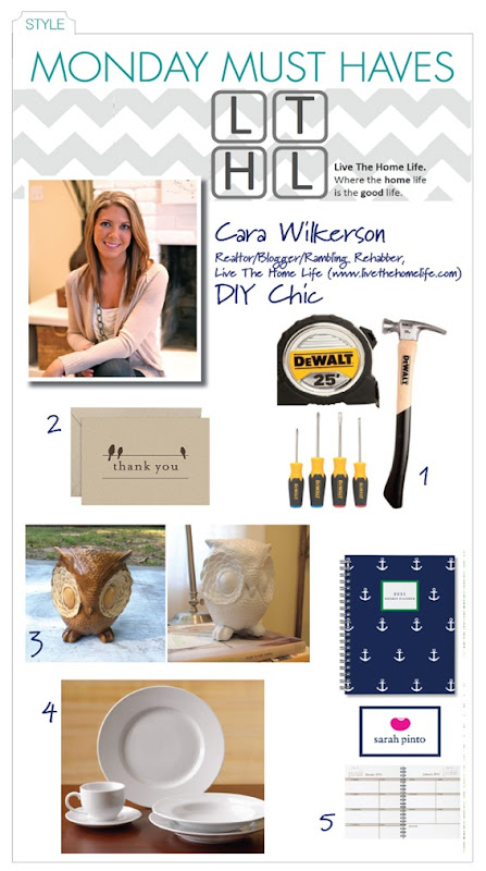 Monday Must Haves_Cara Wilkerson