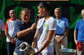 Gianfranco Poletti ed Alice Moroni durante l'intervista