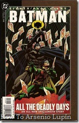 2011-09-30 - Batman - Los Días Mortales