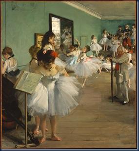 Clase de ballet 1874 Edgar Degas