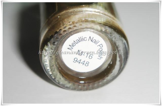 VOV Nail Enamel Metallic Shade
