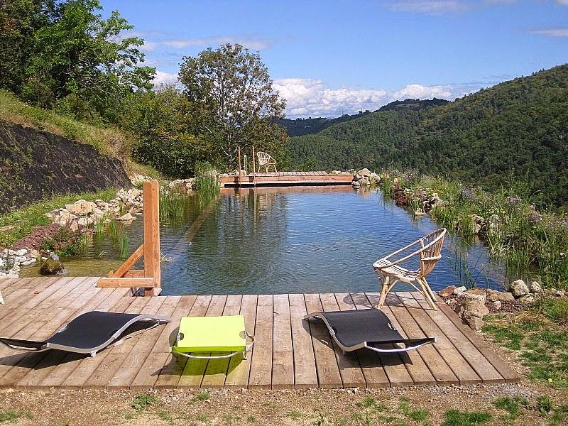 Nos piscines bois enterr es piscine bois modern pool for Piscines enterrees