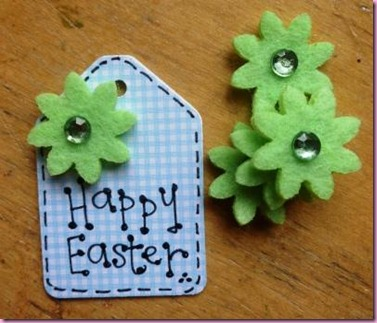 Mini Easter tags for Favour jars