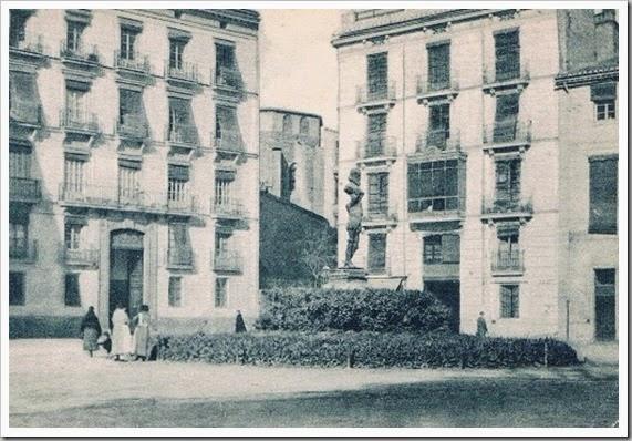 Plaza de los Pinazo. Ca. 1915