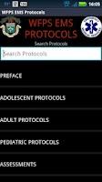 Screenshot of DEMO - WFPS Protocols