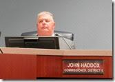 Commissioner Haddox