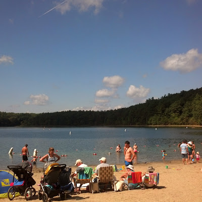 Walden Pond Beach