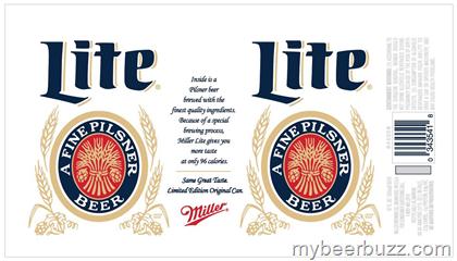 Miller Lite Bringing Back Original 1975 Can Designs