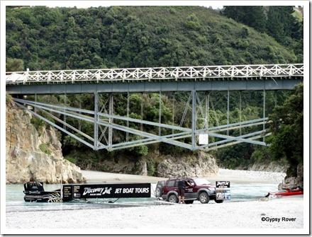 Rakaia Gorge road bridge.