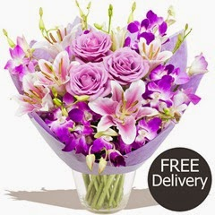FREE DELIVERY Mothers Day Flowers - Mothers Day Luxury Bouquet (Mothers Day Range)