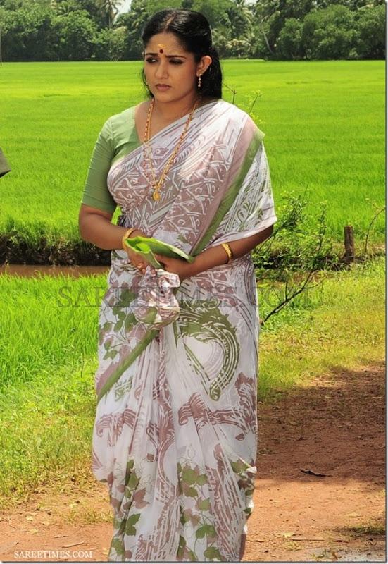 Kavya_Madhavan_Printed_Saree