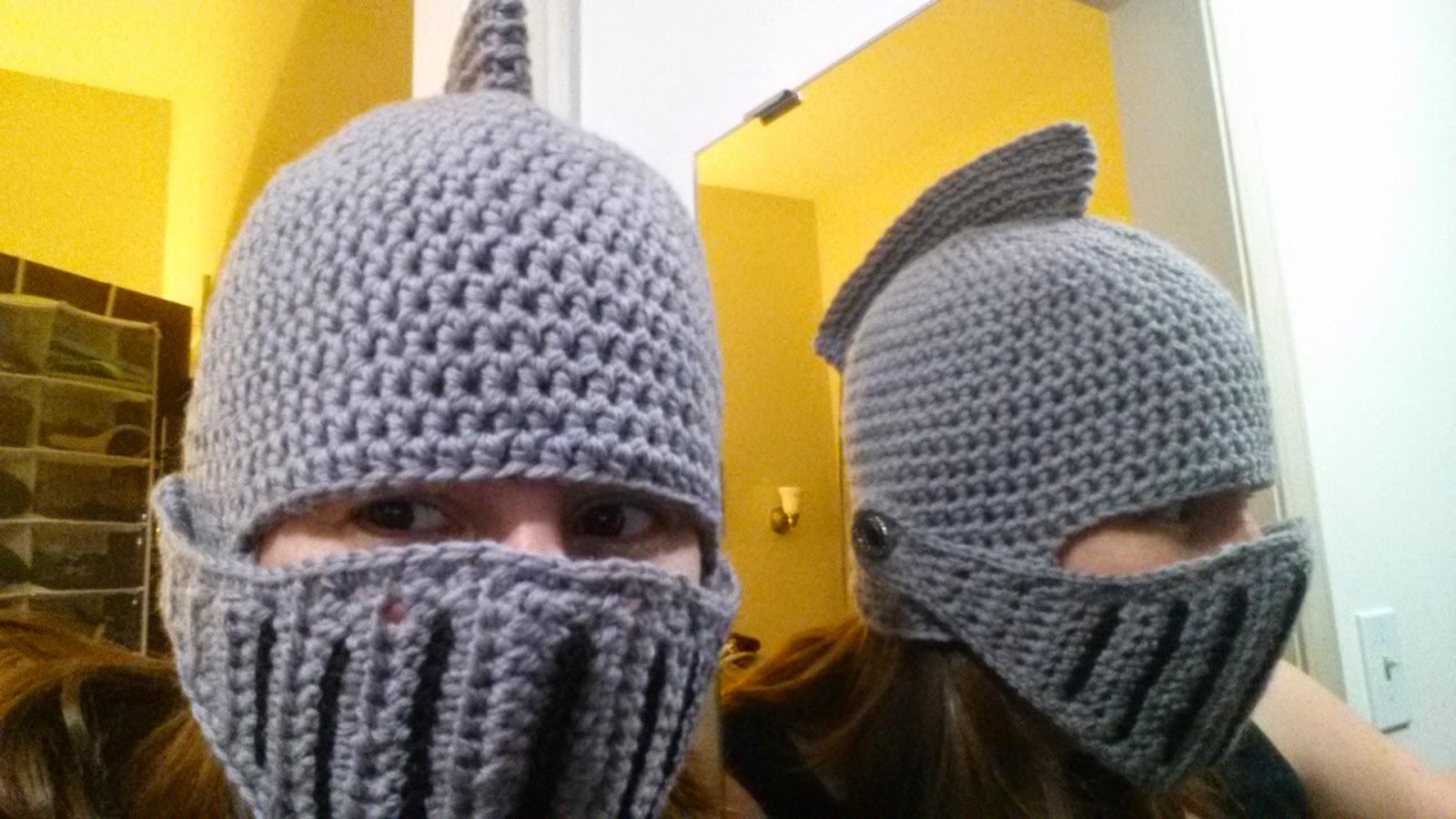 ChemKnits: Sir Knight Helmet