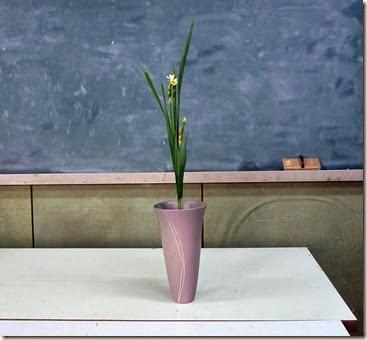 【生花】水仙二本生け
